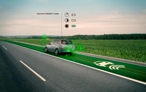 voiture-electrique-voie-rechargeable